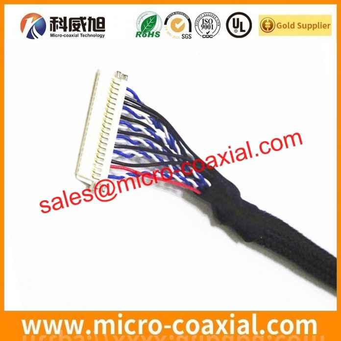 Professional I-PEX 2047-0153 micro coax cable manufacturer High Reliability DF81-50P-SHL(52) india factory