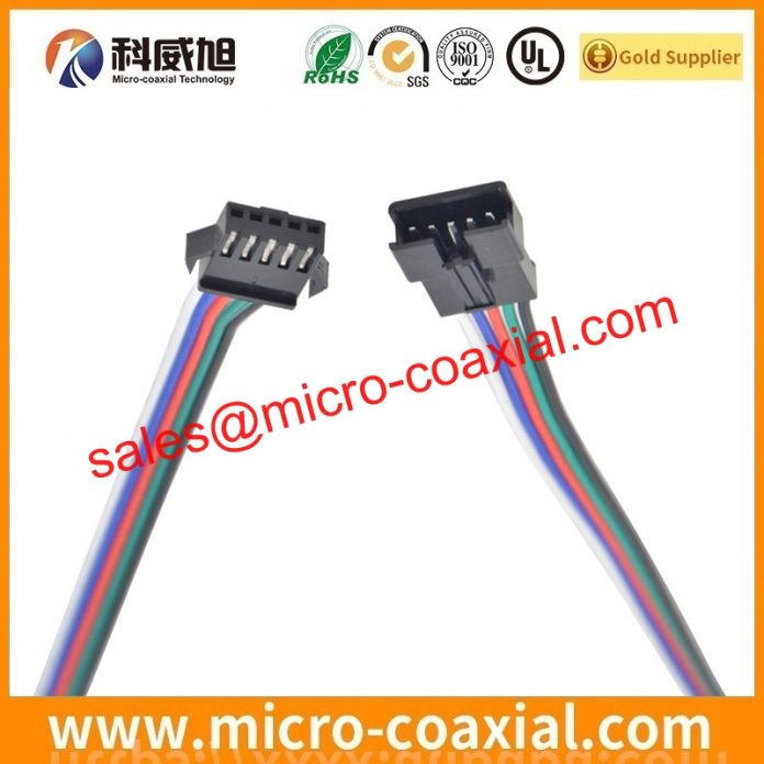 Professional I-PEX 20681 Micro Coaxial cable Supplier High Reliability I-PEX 20633-320T-01S China factory