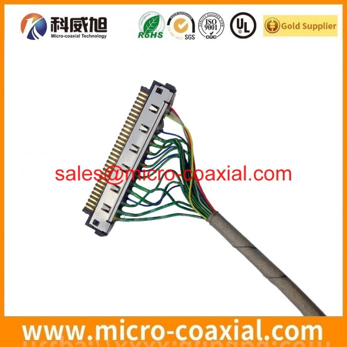 Professional I-PEX 2453-0311 Micro Coaxial cable factory High-Quality DF36A-40P-SHL(52) Chinese factory