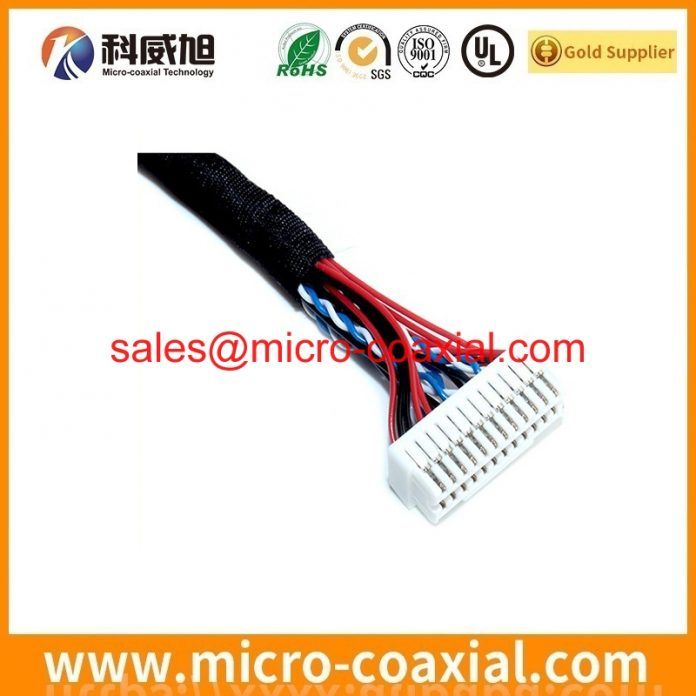 Professional I-PEX 3488-0401 Micro-Coax cable Provider high quality FX15S-51P-0.5SD Chinese factory