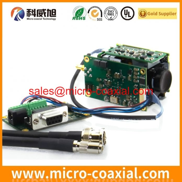 Professional SSL00-30L3-1000 micro wire cable provider High Reliability I-PEX FPL Germany factory