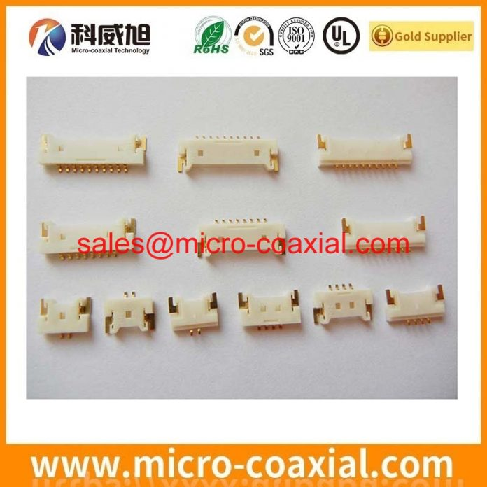 custom I-PEX 20230-014B-F micro-miniature coaxial cable I-PEX CABLINE-F dispaly cable assemblies Manufacturing plant.JPG