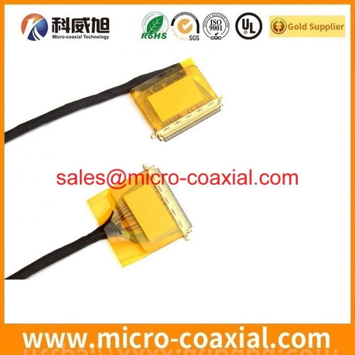 custom I-PEX 20324-040E-11 MFCX cable I-PEX 2619 LVDS cable Assemblies Manufacturer