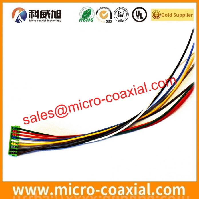 custom I-PEX 2576-150-00 micro flex coaxial cable I-PEX 20682 Panel cable Assembly supplier