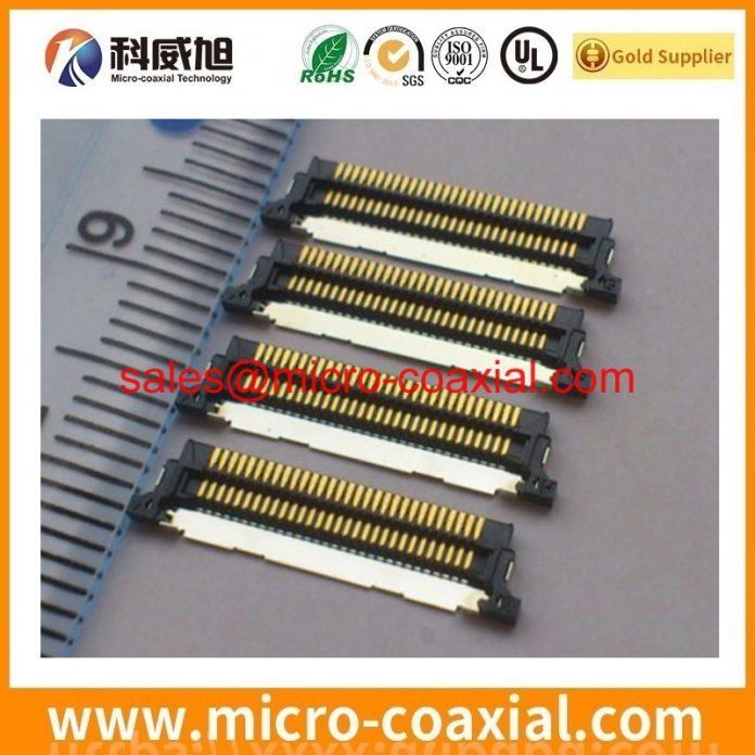 custom I-PEX 2679-050-10 fine wire cable I-PEX 20455-030E-99 V-by-One cable assembly manufactory