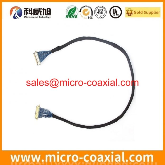 custom LM170E01-G5 eDP cable High Reliability eDP LVDS cable assembly