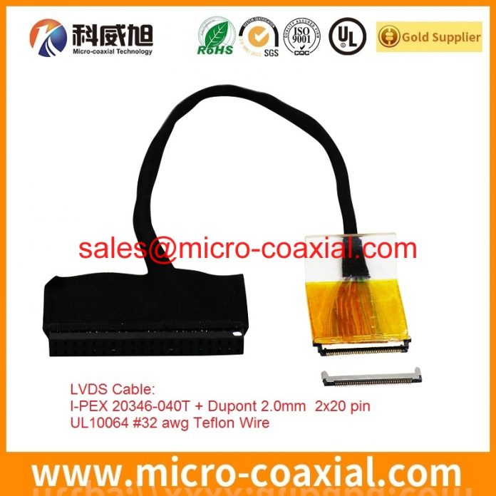 custom LTN141AT12-L01 Mini LVDS cable high quality eDP LVDS cable Assembly