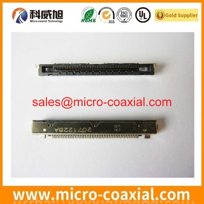 custom LTY320HM02 V-by-One cable High Reliability eDP LVDS cable assemblies.JPG