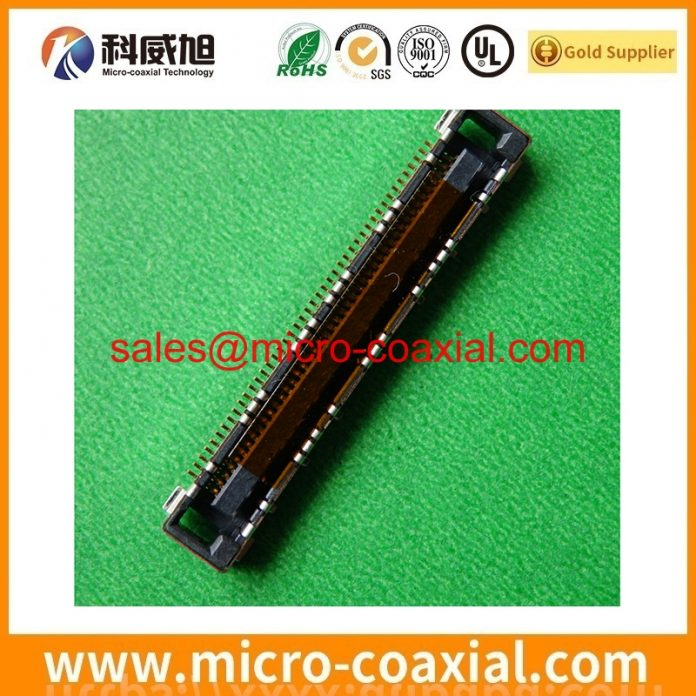 customized I-PEX 20229-014T-F Fine Micro Coax cable I-PEX 2453-0311 Screen cable Assemblies manufactory