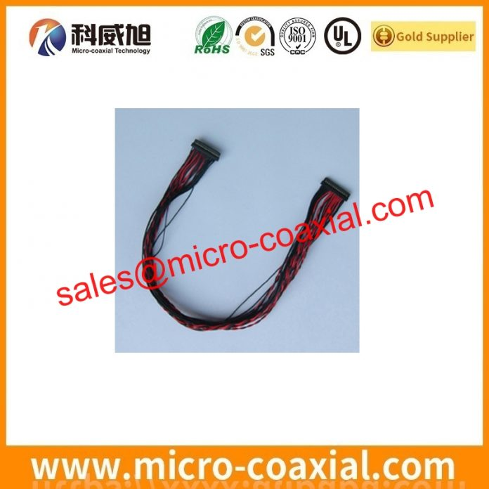 customized I-PEX 20327 Fine Micro Coax cable I-PEX 20633-330T-01S V-by-One cable Assembly Supplier