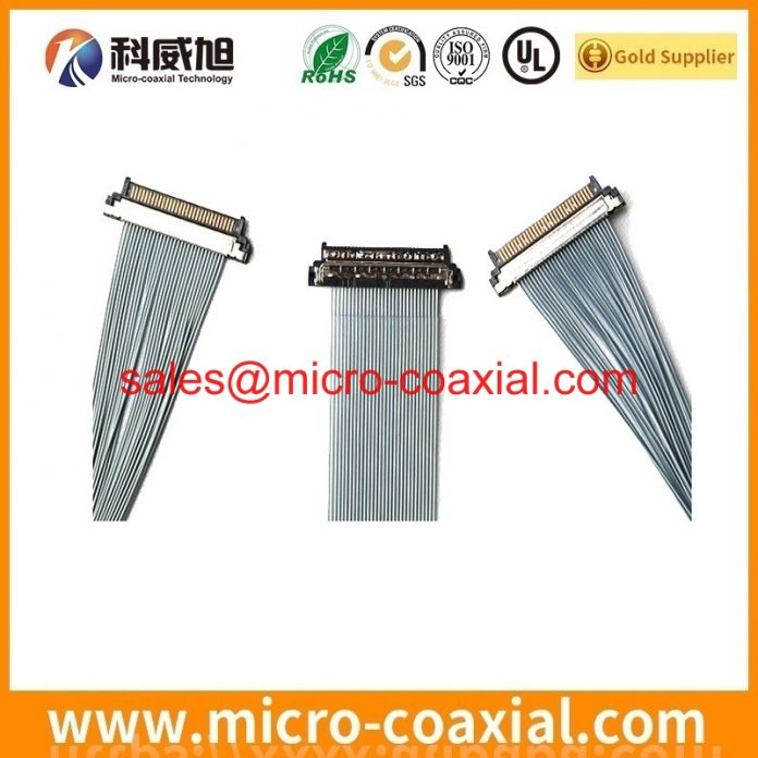 customized I-PEX 20422-031T ultra fine cable I-PEX 20833 screen cable Assemblies Manufactory