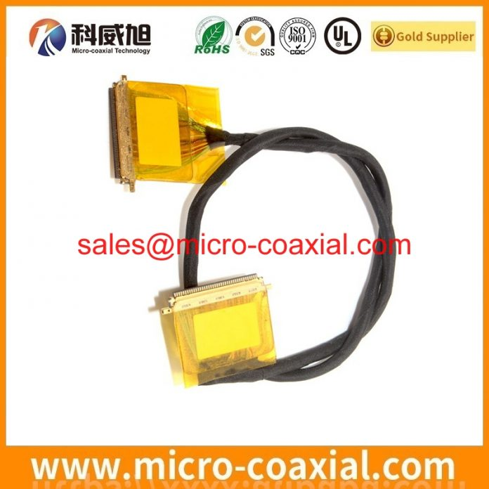 customized I-PEX 20473-040T-10 Fine Micro Coax cable I-PEX 1978-0301S Display cable Assembly provider