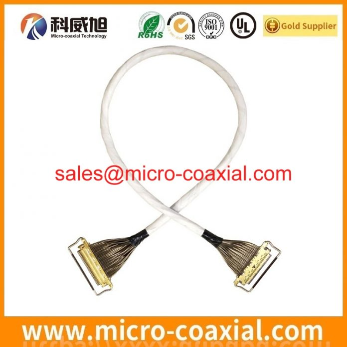 customized I-PEX 20835-040E-01-1 micro-coxial cable I-PEX 20152-020U-20F LVDS cable Assembly Provider