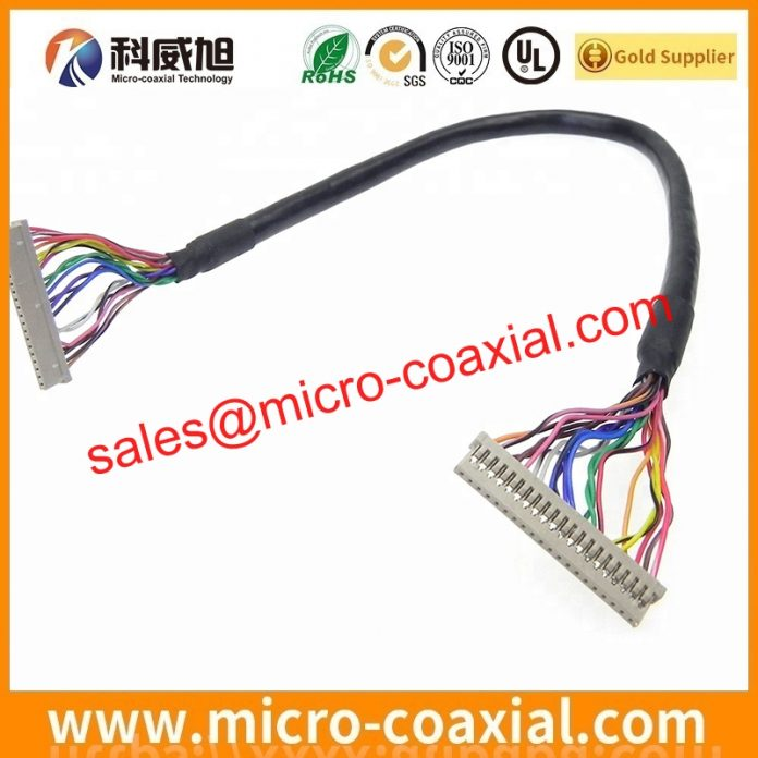 customized LM170E03-TLL3 TTL cable High Reliability LVDS cable eDP cable assemblies