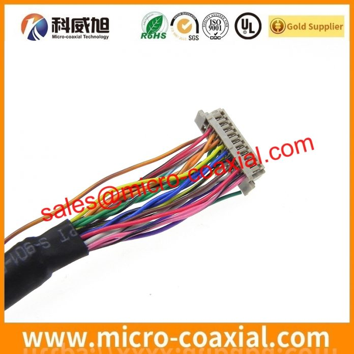 Manufactured LTD121EW6S MIPI cable High quality LVDS eDP cable assemblies