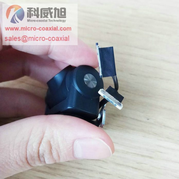 DF36A-40S-0.4V Sensor Custom Micro-Coaxial Assemblies suit ultrasound applications cable