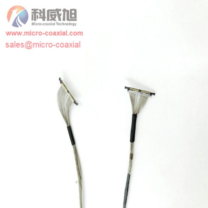 DF56CJ-26S Camera Module Custom Micro-Coaxial Assemblies suit ultrasound applications cable
