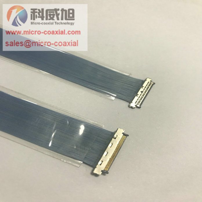 DF36A-40P-SHL MIPI CSI 2 Custom Micro-Coaxial Assemblies suit ultrasound applications cable