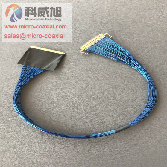 DF36C-15P-0.4SD UAV Custom Micro-Coaxial Assemblies suit ultrasound applications cable